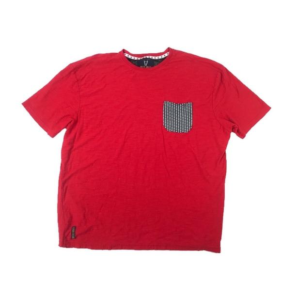 0f84cb87e22b Americana Red White And Blue Stars Pocket T-Shirt. Quilted Giraffe.  M_5b0f7db23a112eb1a0cbd7d4. M_5b0f7db2077b971ab8771fe2.  M_5b0f7db246aa7c6a1561bcbe
